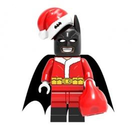 Batman minifigura - Mikulás jelmezben