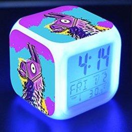 Fortnite éjjeli lámpa órával - Láma színben