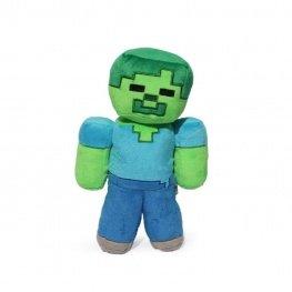 Minecraft plüss figura - Zöld Zombi (Green Zombie) 20cm méretben