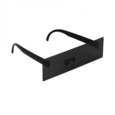 Fekete cenzúra napszemüveg