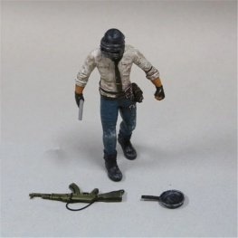 PUBG akciófigura - részletgazdag, 17 cm magas figura