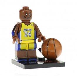 Kobe Bryant minifigura - sárga mezben