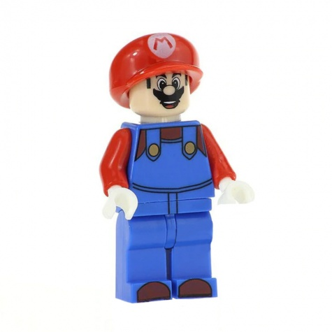 Mario minifigura