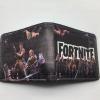 Fortnite Team pénztárca (érmetartóval) -  fekete színben