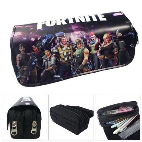 Fortnite gamer tolltartó (2 részes) - fekete csapat színben