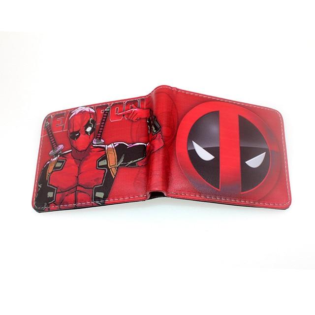 Deadpool pénztárca (érmetartóval) - piros színben