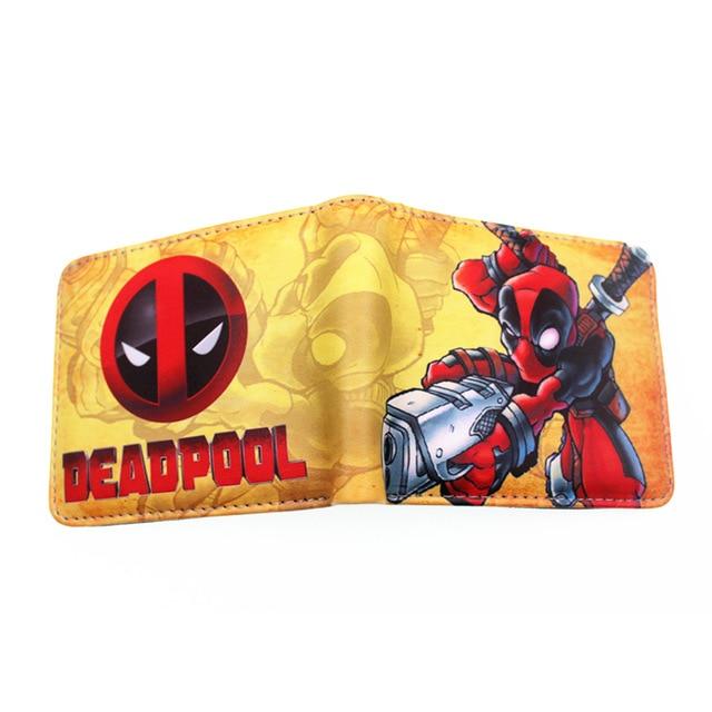 Deadpool pénztárca (érmetartóval) - sárga színben - KÉSZLETRŐL!