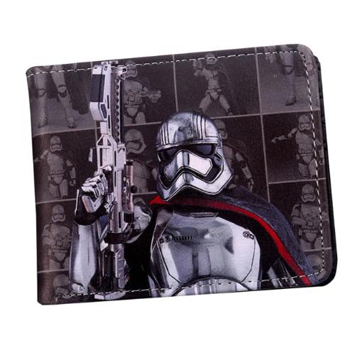 Star Wars - Birodalmi rohamosztagos pénztárca (érmetartóval) - fekete színben - KÉSZLETRŐL!