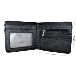 Star Wars - Birodalmi rohamosztagos pénztárca (érmetartóval) - fekete színben