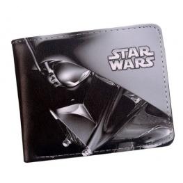 Star Wars - Darth Vader pénztárca (érmetartóval) - fekete színben