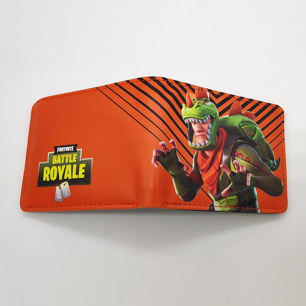 Fortnite Rex gamer pénztárca (érmetartóval) - narancssárga színben - KÉSZLETRŐL!
