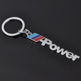 BMW M-Power kulcstartó, táskadísz