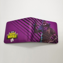 Fortnite Raven gamer pénztárca (érmetartóval) - lila színben