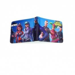 Fortnite Season 4 gamer pénztárca (érmetartóval) - világoskék színben