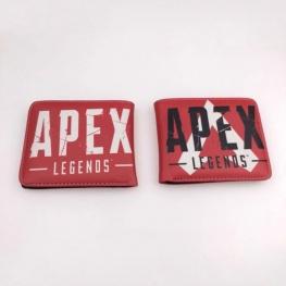 Apex gamer pénztárca (érmetartóval) - piros színben