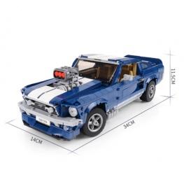 LEPIN - Ford Mustang (1648 darabos) + Ajándék MOC átépítési tervrajzzal