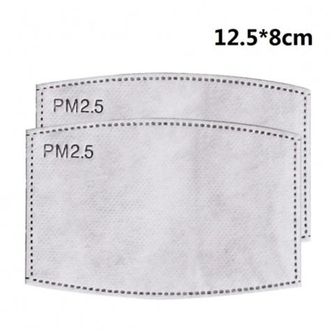 PM2.5-ös szűrőbetét egészségügyi szájmaszkhoz