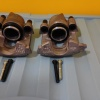 Felújított Brembo féknyereg pár, új dugattyúval, gumival és csavarral - VW Golf mk2-höz