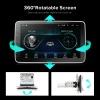 Android 1din-es autós multimédia egység forgatható 10 colos érintő kijelzővel, usb-vel, GPS-el és magyar nyelvvel