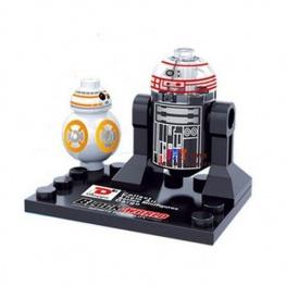 Star Wars, R2-Q5 és BB-8 minifigura