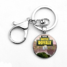 Fortnite Battle Royale kulcstartó, táskadísz