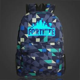 Világító Fortnite hátizsák - mozaik színben