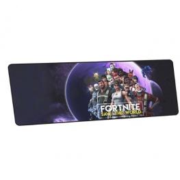Fortnite XXL gamer szövet egérpad (igazi fanoknak) - sötétlila színben