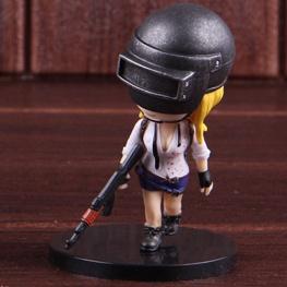PUBG minifigura - női karakter szőke hajjal figura