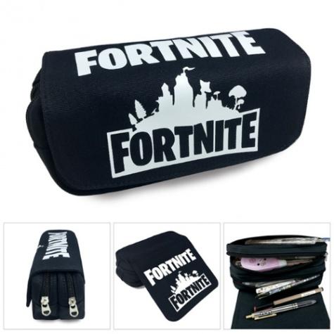Fortnite gamer tolltartó (2 részes) - fekete logo színben