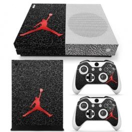 Jordan fedő matrica Xbox One S konzolra és contollerre