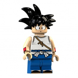 Dragon Ball Z, Son Goku minifigura - tanonc
