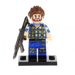 Fortnite, Builder minifigura - fényes fegyverrel
