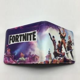 Fortnite Save the World gamer pénztárca (érmetartóval) - lila színben