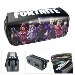 Fortnite gamer tolltartó (2 részes) - fekete alapon csapat színben