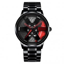 Volk Racing TE37 Rays Black Edition I karóra - fekete / piros