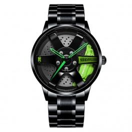 Volk Racing TE37 Rays Black Edition karóra - fekete / zöld