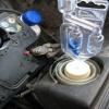 Hengerfej szivárgás teszter - 100 ml teszt folyadékkal, univerzális 25-55 mm átmérőjű adapterrel
